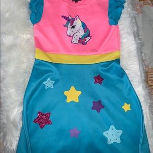 JoJos closet unicorn dress 14/16